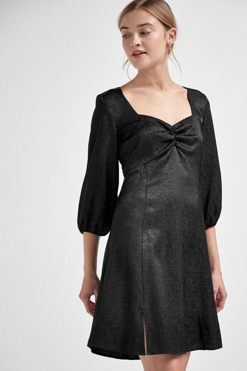 Next Sweetheart Neck Mini Dress - Tall