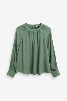 Next Textured Long Sleeve Top - 262911