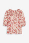 Next Ruffle Smock Top