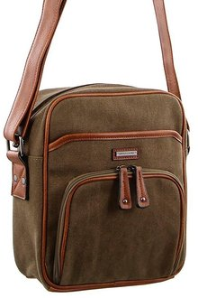 Pierre Cardin 2-tone Canvas Cross-Body Bag - 262968