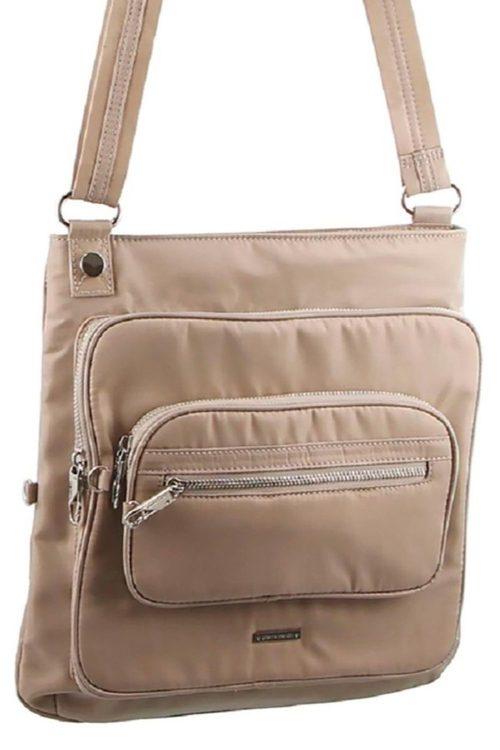 Pierre Cardin Slash-Proof Cross-Body Bag