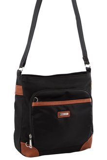 Pierre Cardin 2-tone Slash-Proof X-Body Bag - 262977