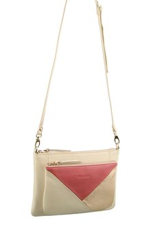 Pierre Cardin Leather Cross-Body Bag/Clutch - 262990