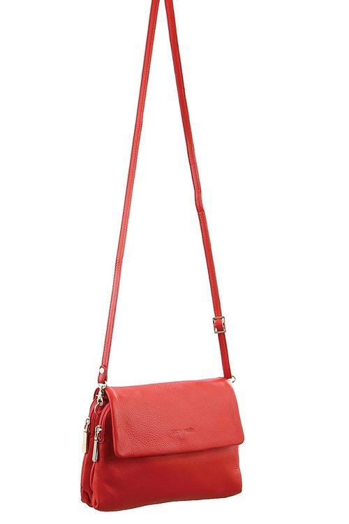 Pierre Cardin Leather Cross-Body Bag/Clutch