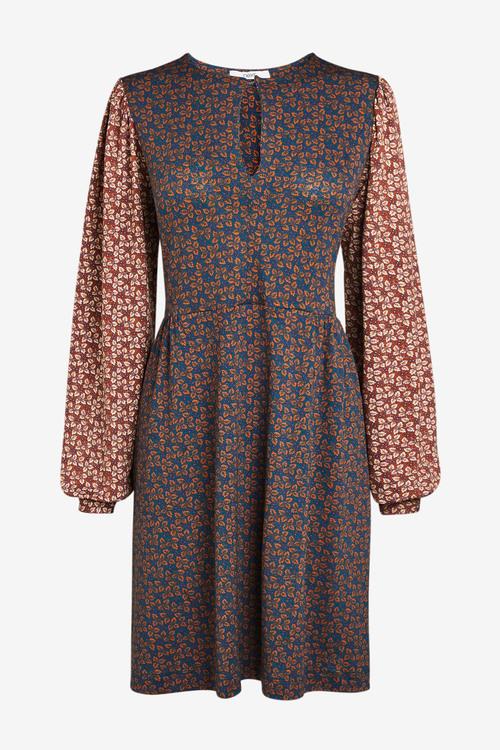 Next Keyhole Mini Dress