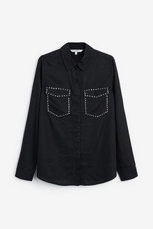 Next Stud Detail Shirt - 263059