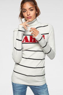 Urban Ahoi Roll Neck Sweater - 263060