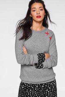 Urban X-Stitch Detail Pullover - 263063