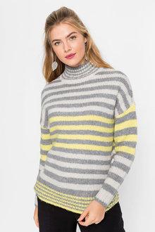 Urban Cosy Stripe Jumper - 263064