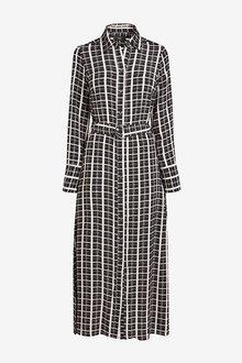 Next Midi Shirt Dress - 263078