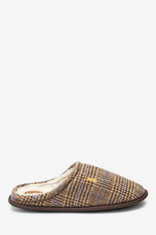 Next Check Mule Slippers - 263083