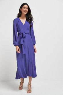 Next Plunge Maxi Dress - 263090