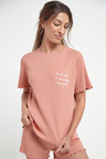Next Cotton Short Sleeve Slogan Top