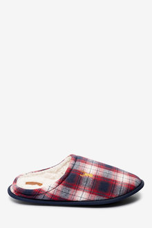 Next Check Mule Slippers - 263117
