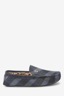 Next Modern Heritage Moccasin Slippers - 263125