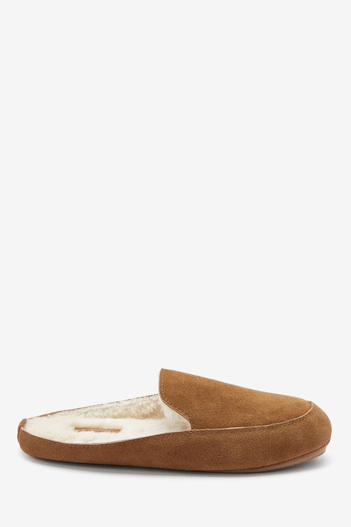 Next Signature Suede Mule Slippers