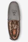 Next Tassel Moccasin Slippers