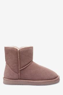 Next Suede Slipper Boots - 263220