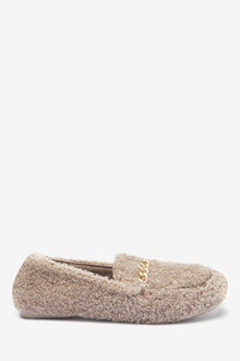 Next Chain Detail Moccasin Slippers - 263258