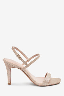 Next Skinny Strap Simple Sandals-Regular - 263269