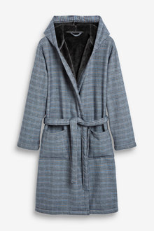 Next Check Signature Dressing Gown - 263274