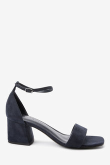 Next Forever Comfort Simple Block Heel Sandals - 263277