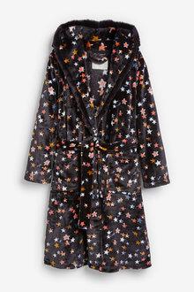 Next Velour Robe - 263309