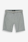 Next Belted Oxford Shorts