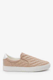 Next Forever Comfort Quilted Slip-On Trainers - 263350