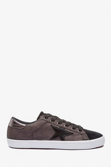 Next Star Lace-Up Trainers - 263354
