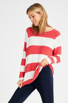 Urban Stripe Knit Jumper - 263361