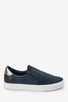Next Forever Comfort Slip-On Trainers-Wide - 263386