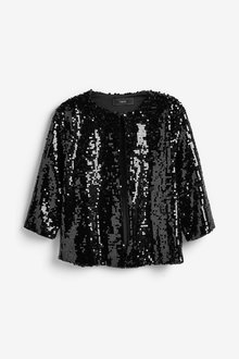 Next Sequin Jacket - 263444