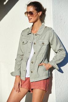 Next Linen Blend Pull-On Shorts - Tall - 263485