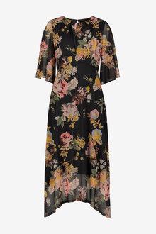 Next Mesh Midi Dress - Tall - 263499