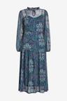 Next Mesh Midi Dress - Tall
