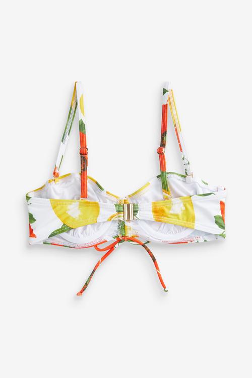 Next Non Pad Underwired Bandeau Bikini Top