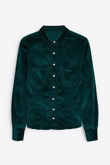 Next Velvet Shirt - 263540