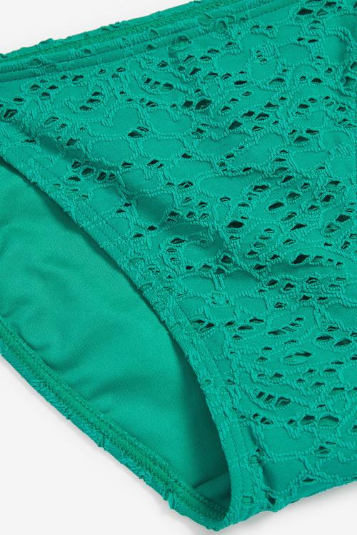 Next Crochet Tie Side Bikini Briefs
