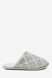Next Check Mule Slippers - 263581
