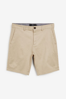 Next Stretch Chino Shorts-Straight Fit - 263620