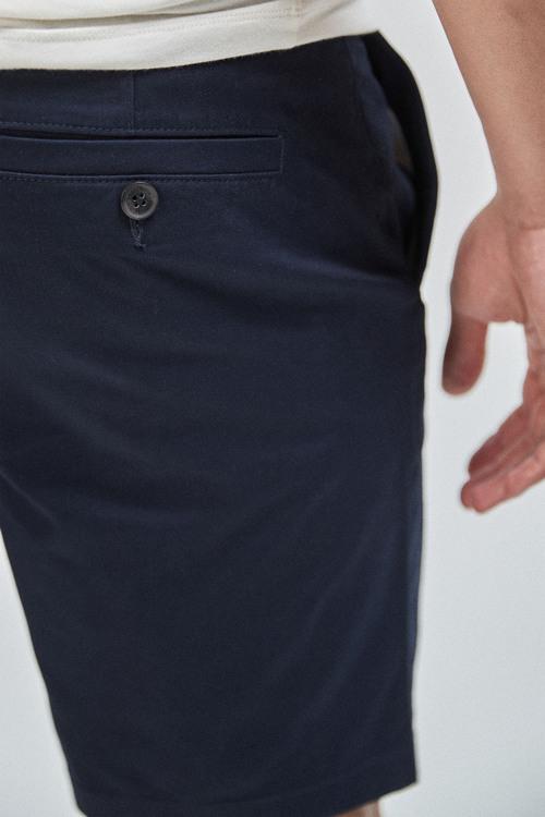 Next Stretch Chino Shorts-Straight Fit