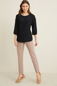 Capture Stretch Ankle Pants - 263641