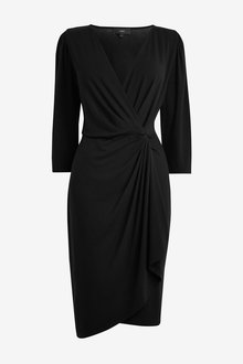 Next Jersey Wrap Dress - Tall - 263652