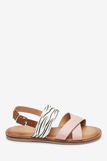 Next Cross Strap Sandals (Older) - 263697