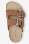 Next Leather Buckle Corkbed Sandals (Older)
