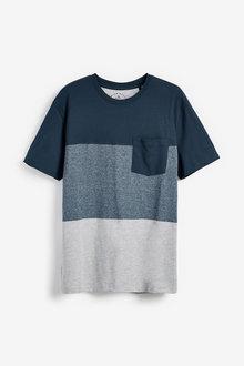 Next Block Stripe Cuffed Pyjama Set - 263737