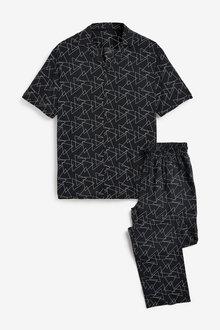 Next Geo Pyjama Set - 263743