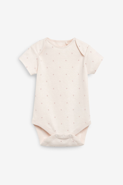 Next 10 Pack GOTS Organic Bunny Short Sleeve Bodysuits (0mths-3yrs)