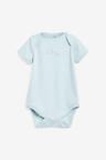 Next 10 Pack GOTS Organic Elephant Short Sleeve Bodysuits (0mths-3yrs)